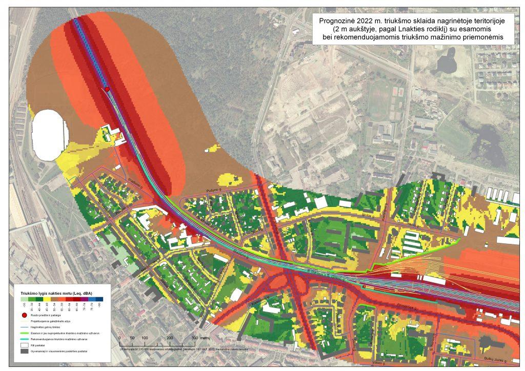 Klaipėdos geležinkelio stoties aplinkos triukšmo modeliavimas (2012 metai)